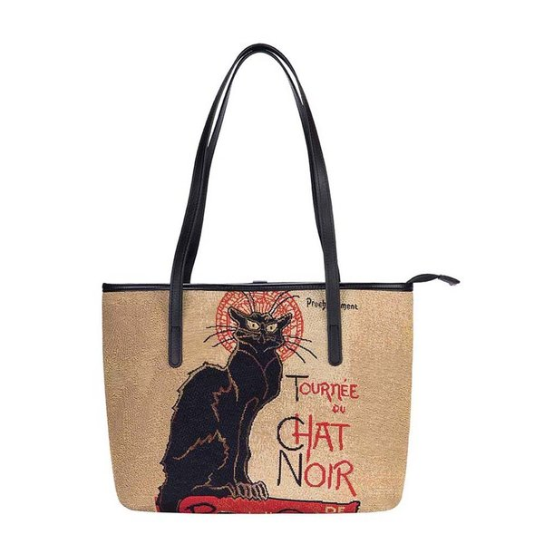 College Tasche Design Tournée du Chat Noir